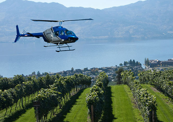Okanagan Helicopter wine tours
