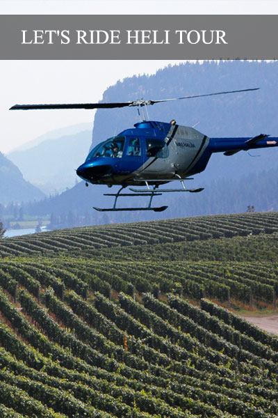 One of a kind scenic helicopter wine tour!